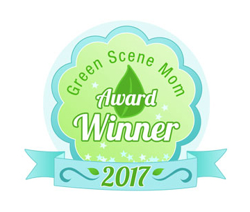 2017 Green Scene Mom Awards eco-friendly product awards