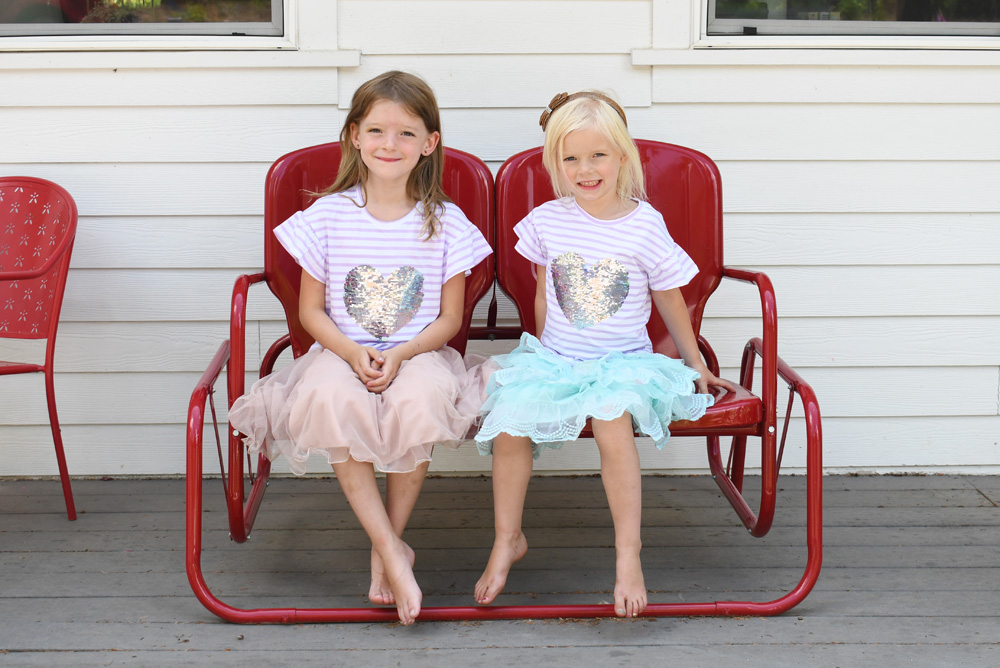 Matching outfits gift ideas for kids