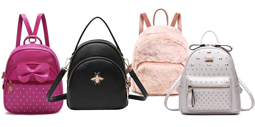 Mini fashion backpacks accessory for kids and women