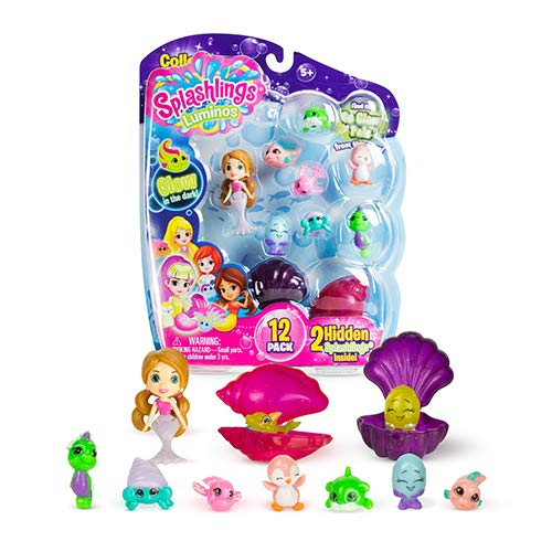 Splashlings mermaid dolls and undersea creatures - Kids Valentines Day gift ideas