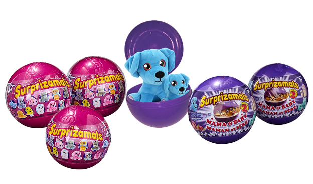 Surprizamals Mystery Balls each have a collectible plush toy inside