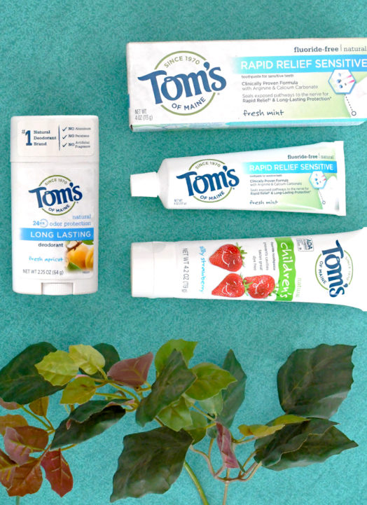 Nature Up With Tom's of Maine Natural Products
