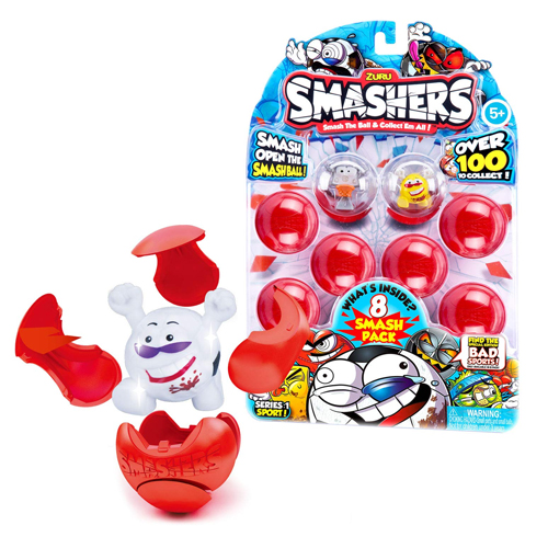 Zuru Smashers Balls collectible wacky characters - Kids Valentines Day gift ideas