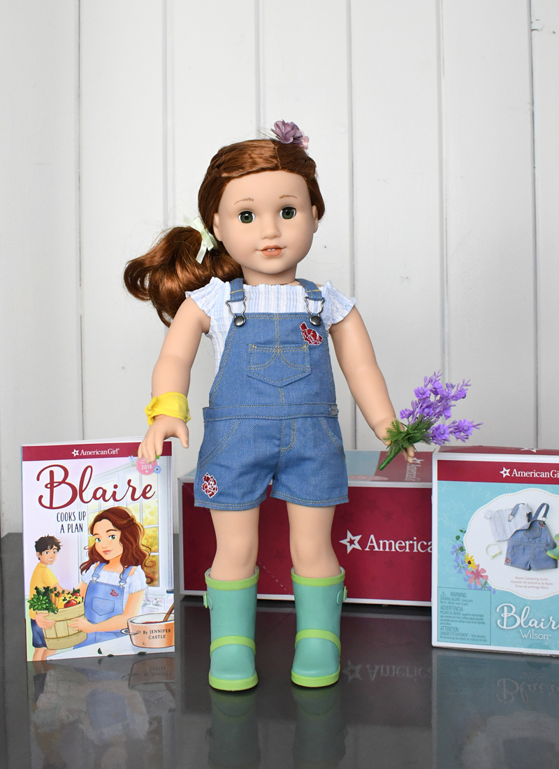 American Girl 2019 girl of the year Blaire Wilson and book series
