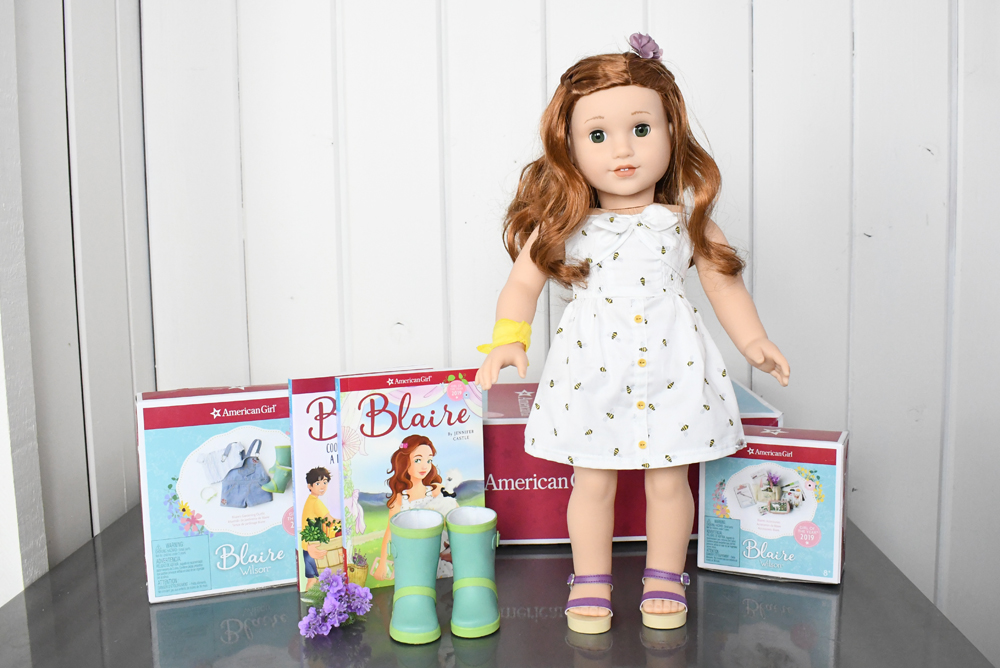 American Girl Blaire Wilson girl of the year outfits and accessories