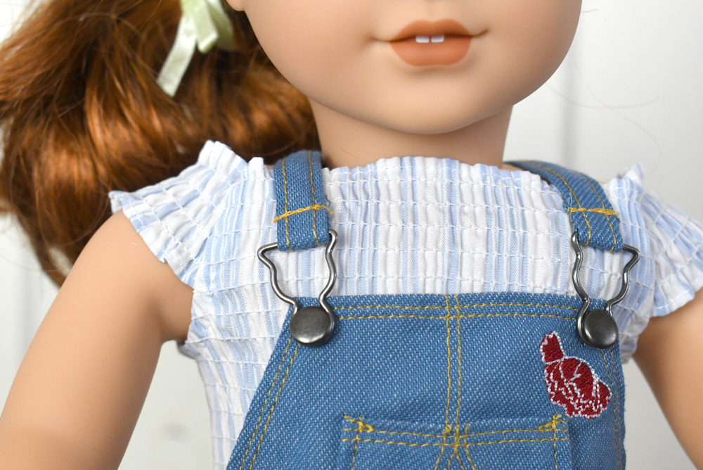 American Girl 2019 girl of the year Blaire Wilson gardening outfit for 18 inch dolls