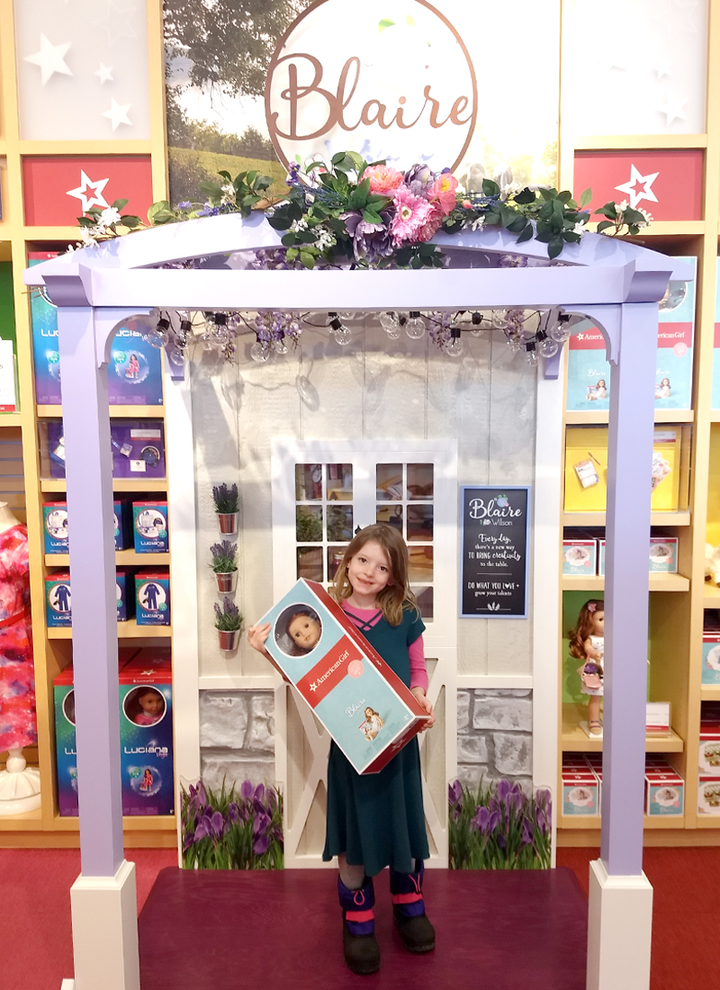 American Girl 2019 Girl of the Year Blaire Wilson - Colorado AG Store