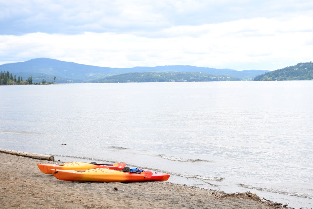 Downtown Kake Coeur d'Alene kayaking and family activities