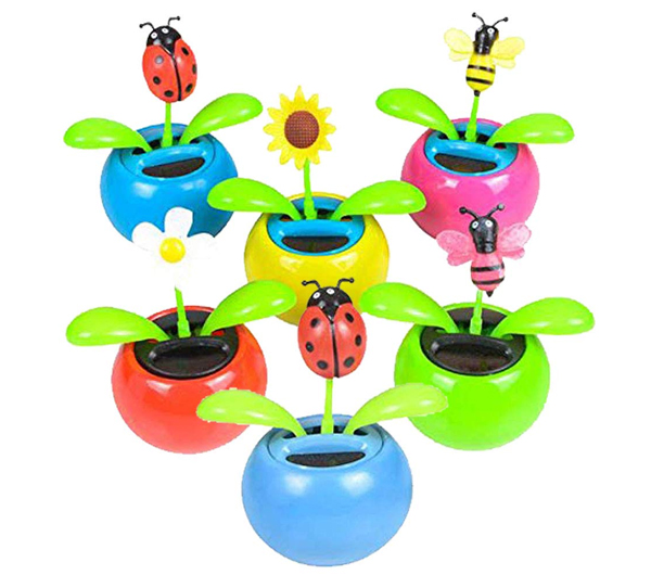 Mini Solar Flower and Bugs - Easter basket gift ideas