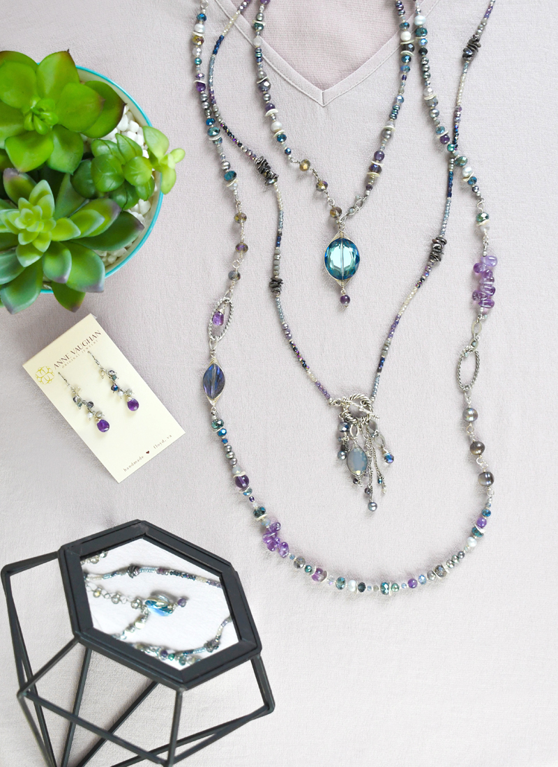Perfect Spring Accessories from Anne Vaughan Jewelry
