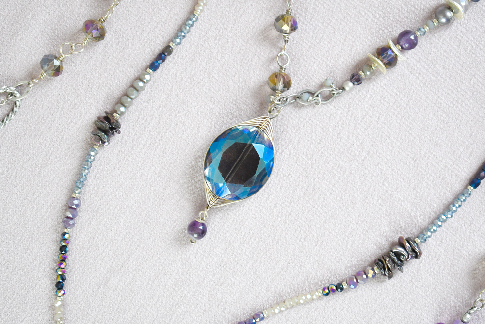 Anne Vaughan handcrafted jewelry Shimmer Collection