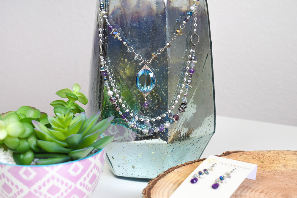 Gorgeous Necklaces and Accessories from Anne Vaughan Jewelry
