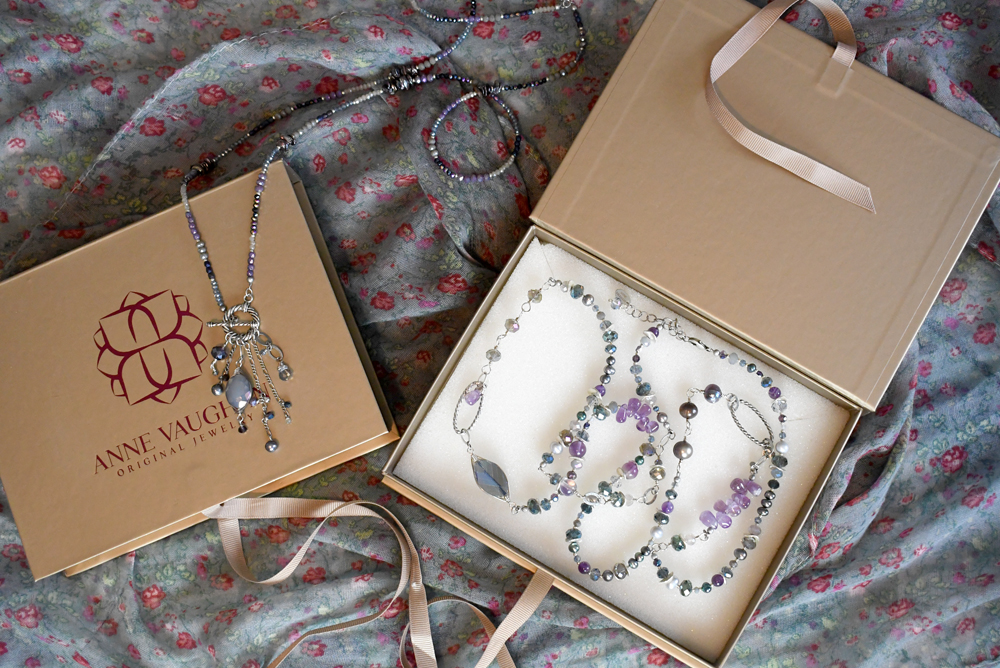Anne Vaughan Jewelry gift boxes