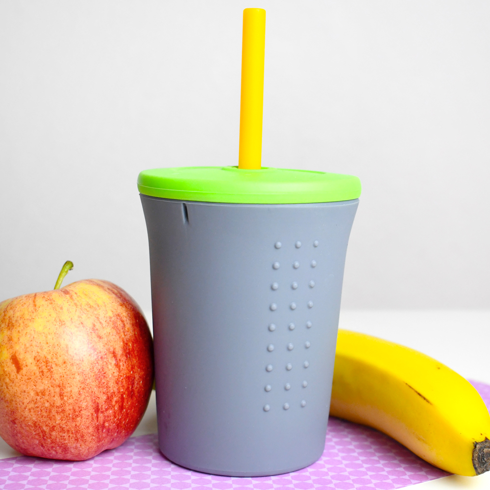 goSili 12 oz. Silicone Straw Cup Winter 2019 Eco Awards