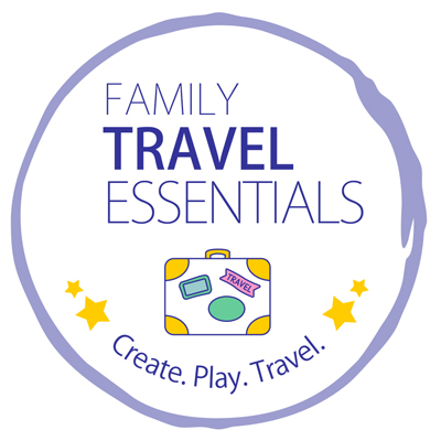 Family Travel Essentials badge - Create Play Travel