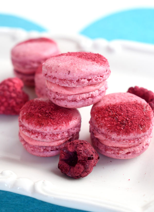 How to Make Freeze Dried Raspberry Macarons