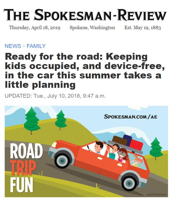 Spokesman Review Travel article