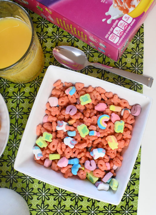 Kids Love Fun Cereal? Enjoy a Balanced Breakfast
