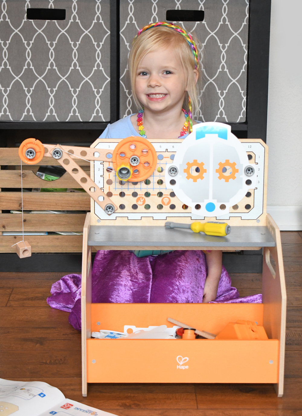 Hape Toys Discovery Workbench kids activity