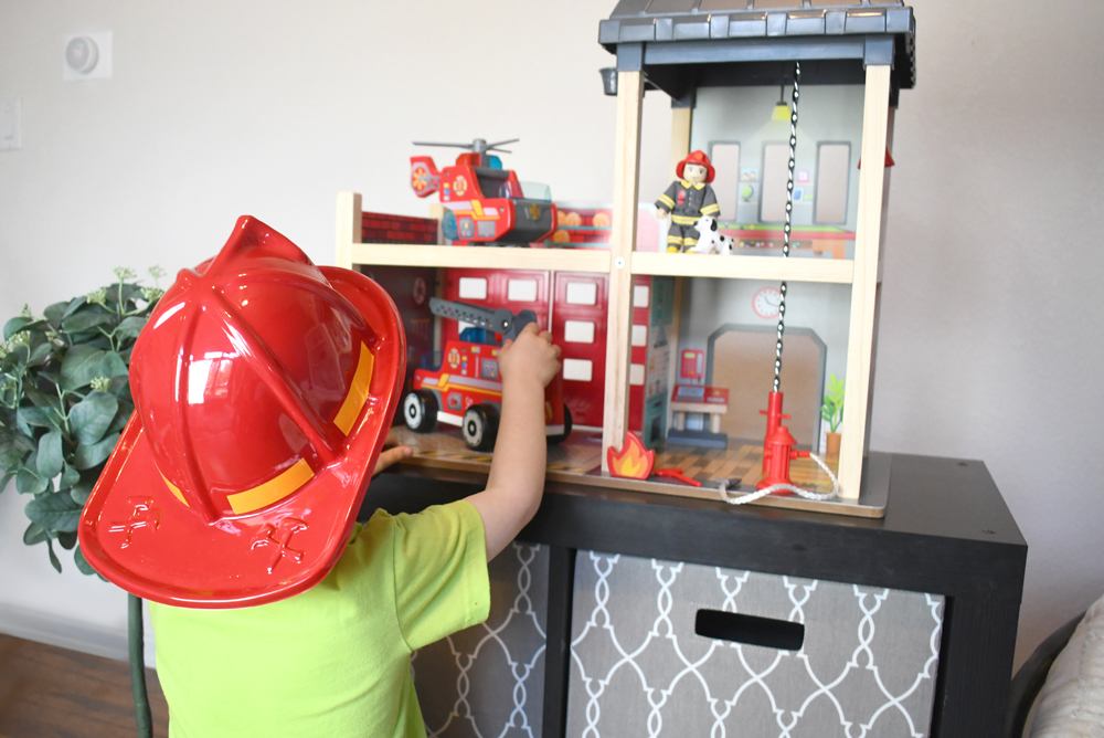 Hape Toys Fire Station Playset Product Review