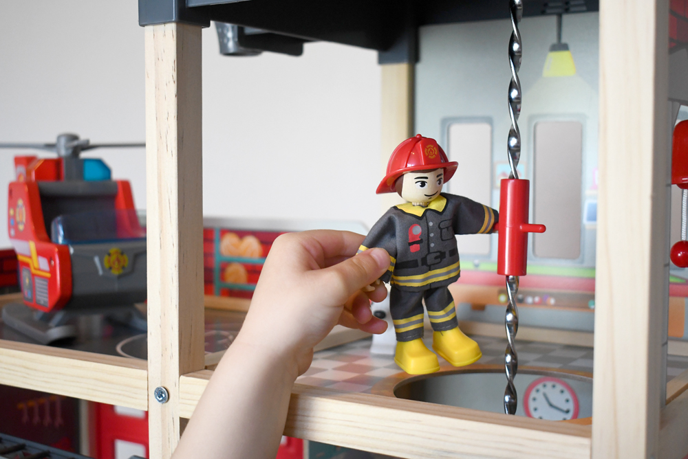 Hape Toys Fire Station Playset with Fireman - Product Review