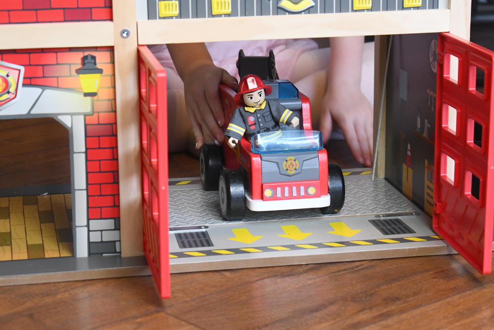 Hape Toys Fire Station Playset with Fire Truck - Product Review