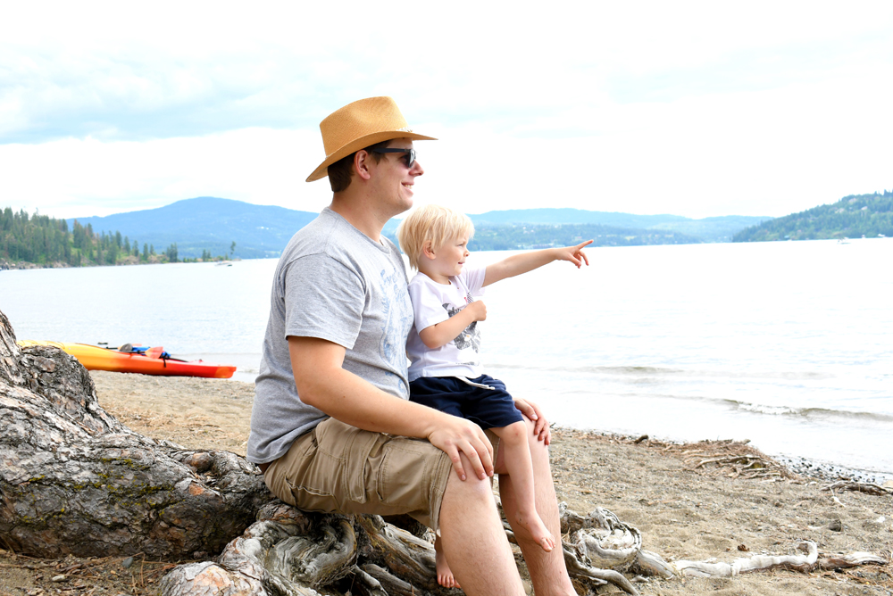 Explore the Outdoors in Beautiful Coeur d'Alene, Idaho - Create Play Travel family lifestyle