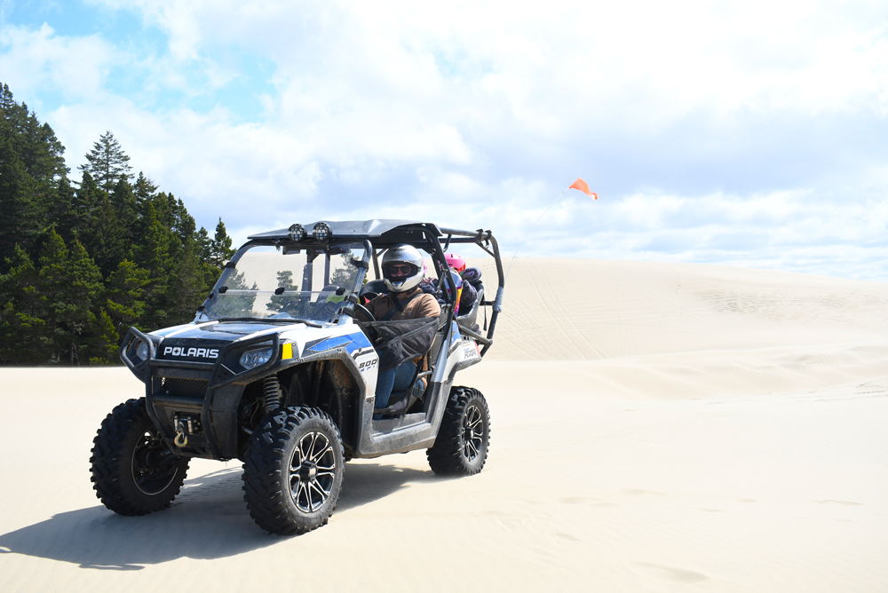 Ride the Sand Dunes in Florence, Oregon