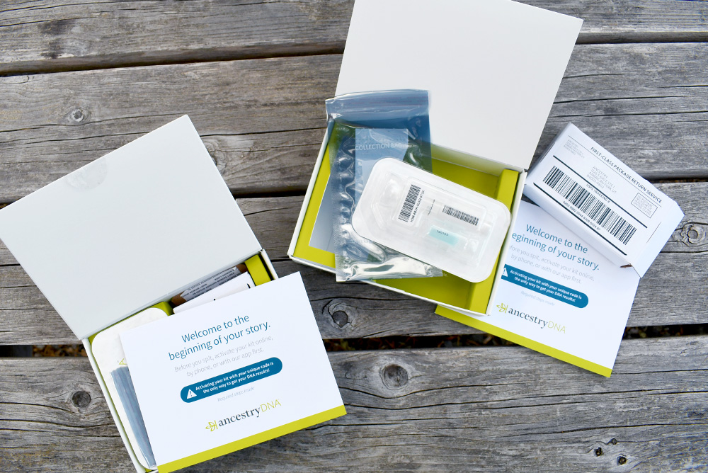 Ancestry DNA heritage kit review