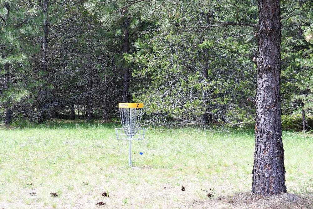 Farragut State Park disc golf near Coeur d'Alene Idaho