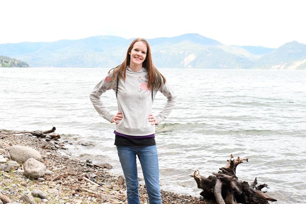 Lake Pend Oreille near Coeur d'Alene Idaho