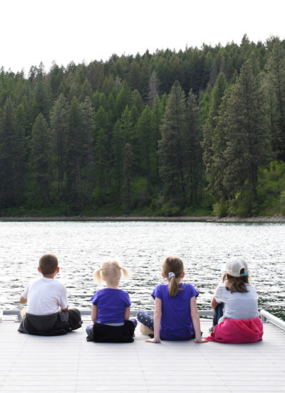 Camping Activities at Farragut State Park in Coeur d'Alane, Idaho