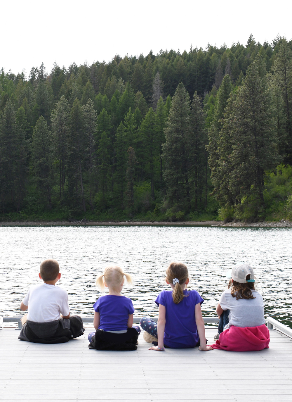 Camping Activities at Farragut State Park near Coeur d'Alene, Idaho