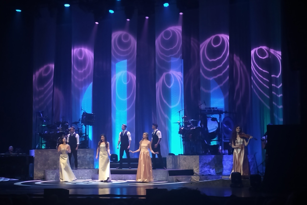 CELTIC WOMAN performance at the Martin Woldson Theater at The Fox in Spokane, Washington