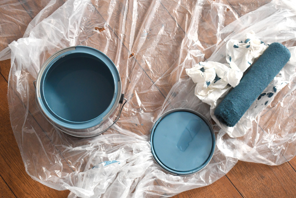 How to paint an accent wall - painting tips