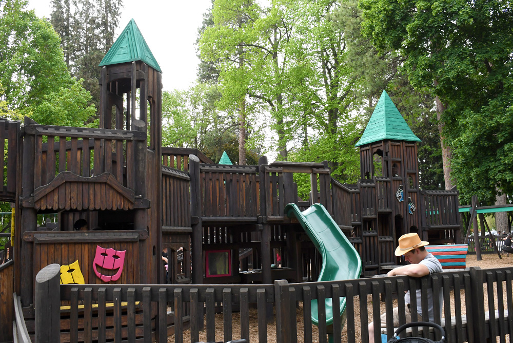 Coeur d'Alene Fort Sherman Playground Pacific Northwest Family Travel Destinations