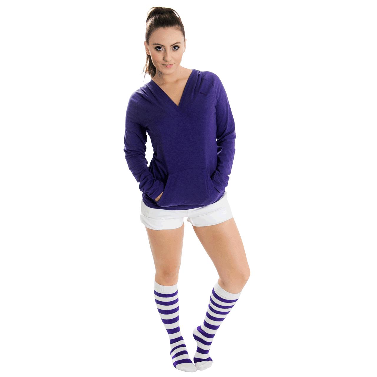 Chrissy's knee high striped socks