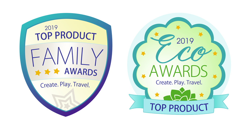 Top Product Eco and Family Awards - Create. Play. Travel.