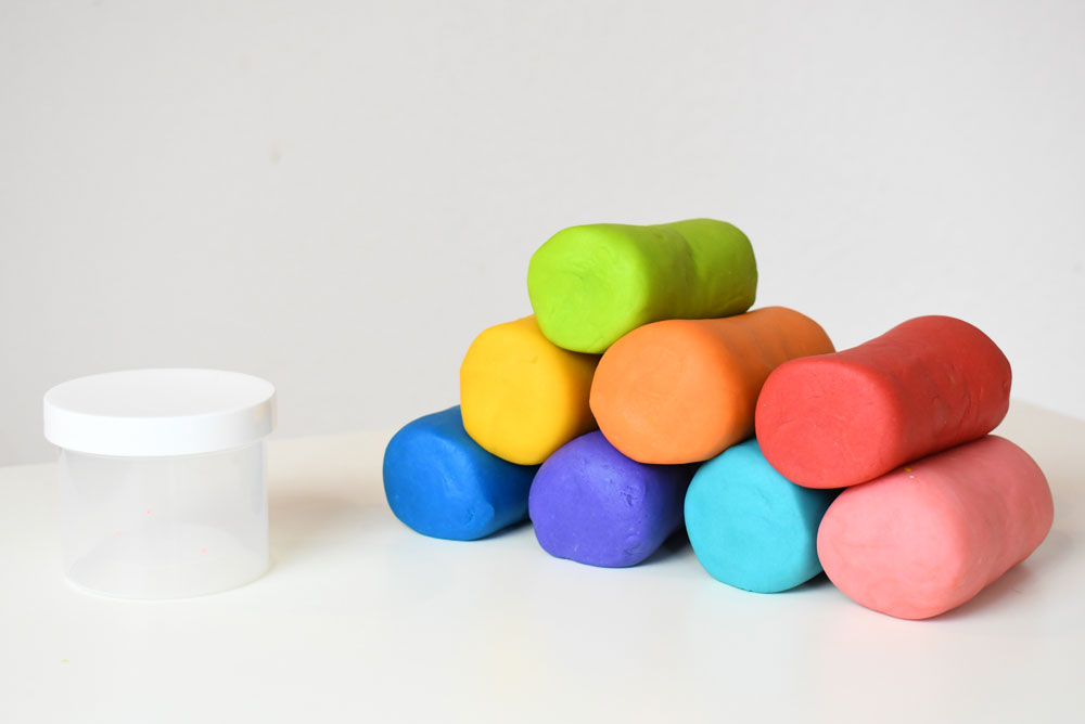 Best playdough recipe neon colors