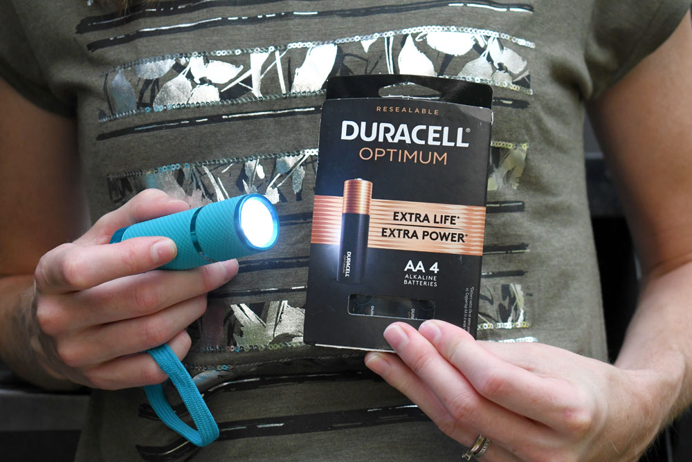 Duracell Optimum batteries for family camping adventures
