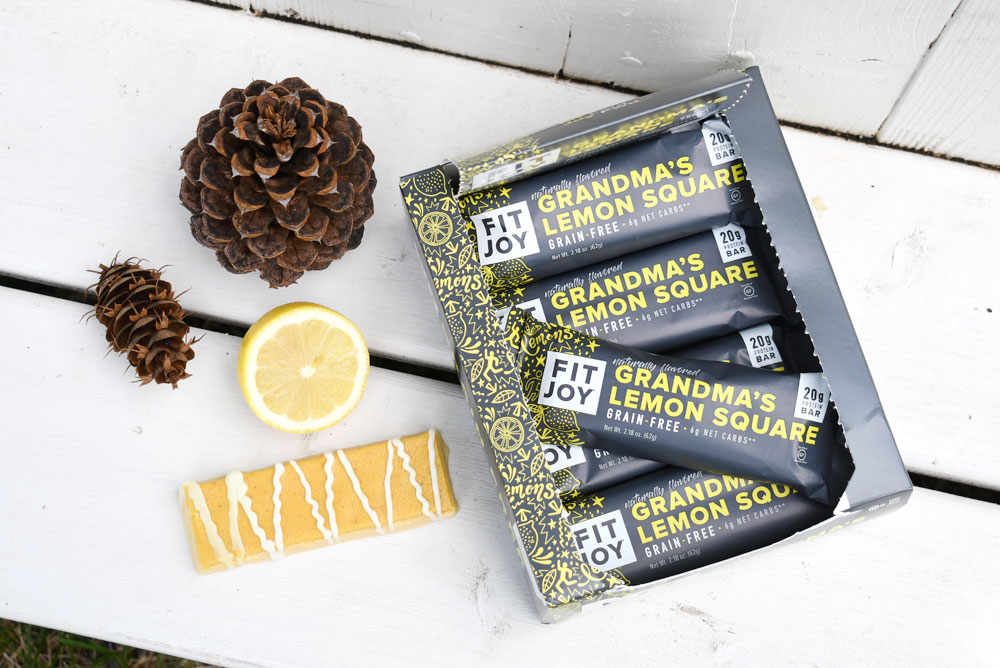FitJoy Grandma's Lemon Square protein bar review