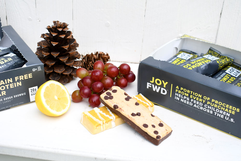 Fit Joy grain free and gluten free protein bars