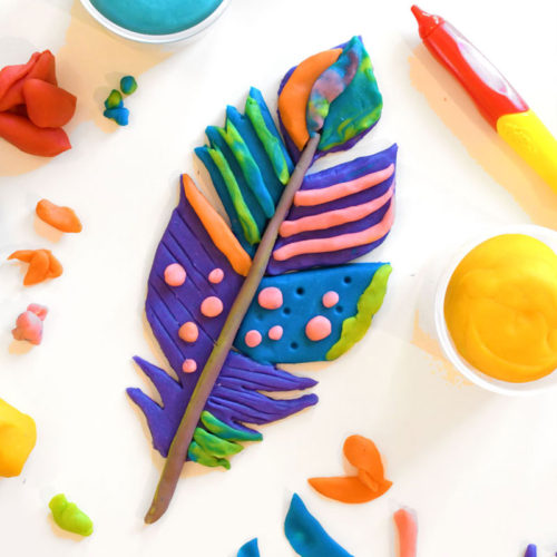 The Best Homemade Playdough Recipe Bright Colors for kids