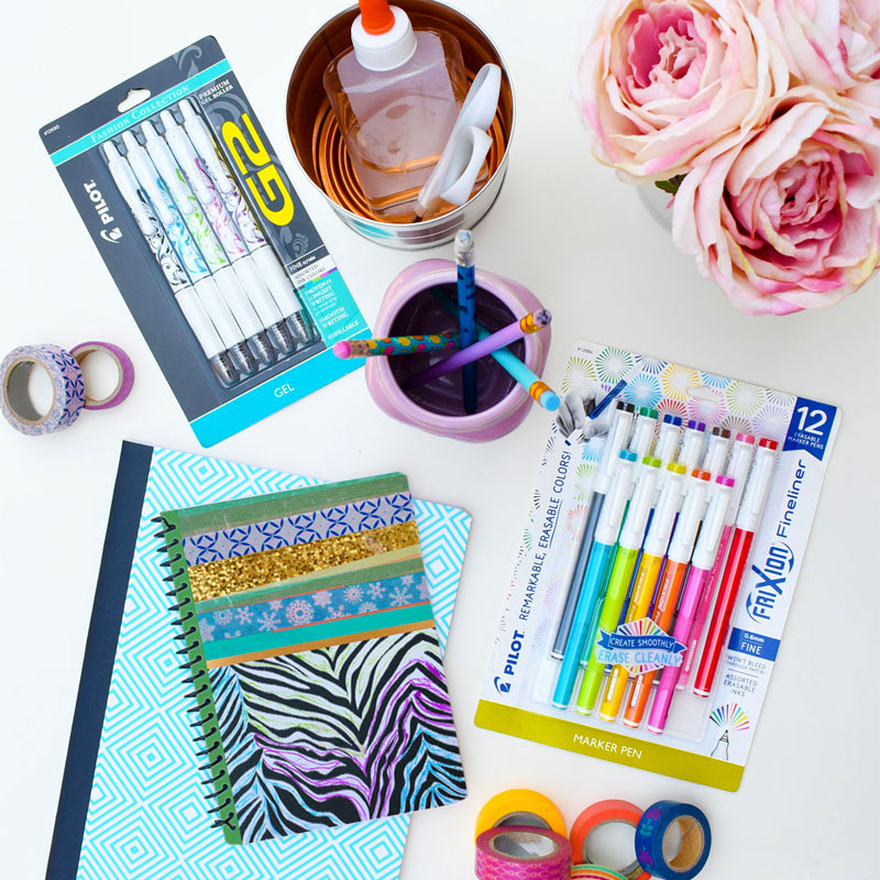 Crafty Ideas for Back to School Supplies