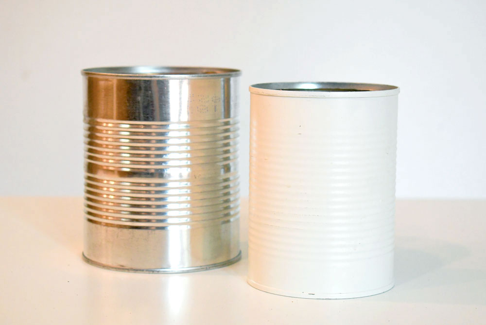 DIY washi tape pencil cans back to school