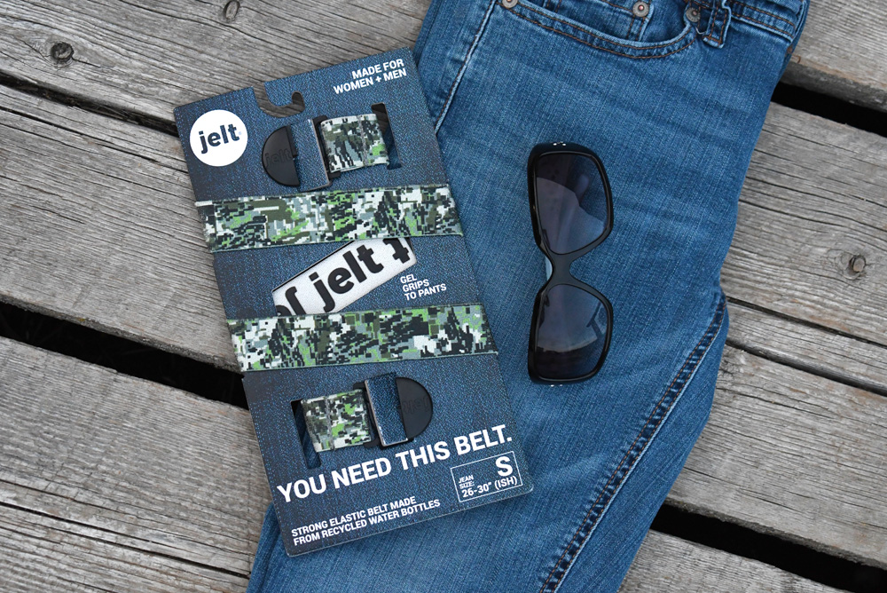 Jelt Belts are designed by a Pacific Northwest entrepreneur