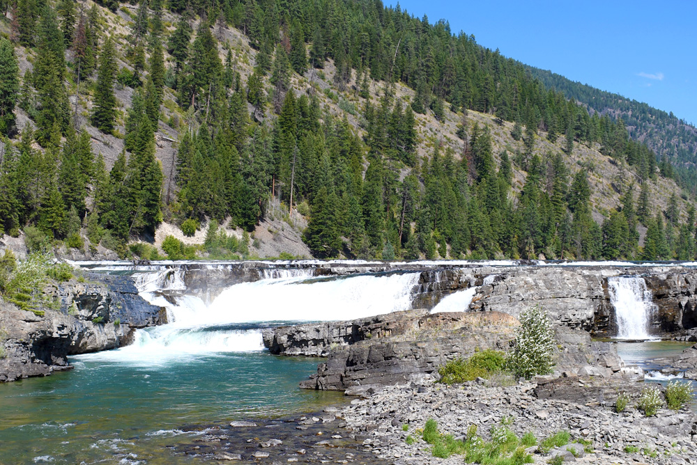 Kootenai Falls easy family hike