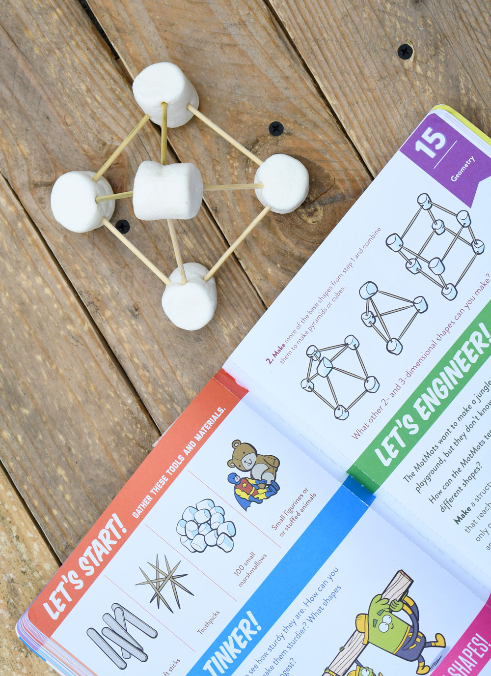 Make learning fun with kids science and math activities