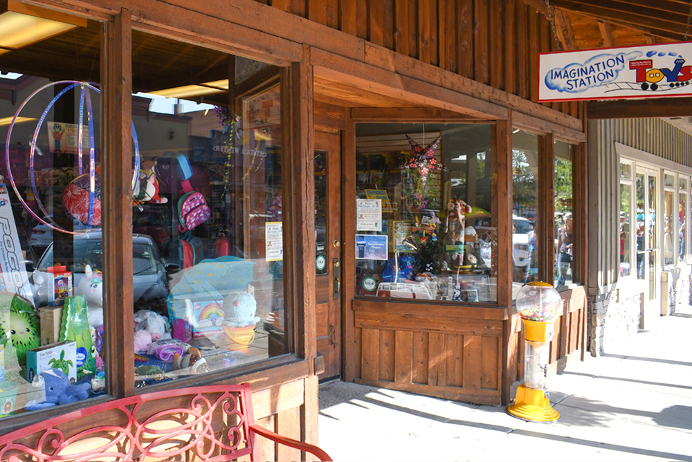 Whitefish Montana shopping Imagination Station Toys
