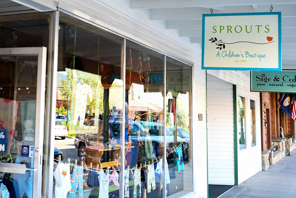 Whitefish Montana Sprouts Children's Boutique